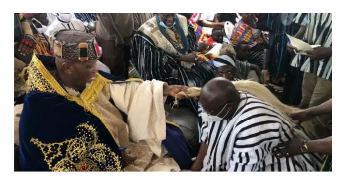 VP Bawumia Replaces John Mahama At His Backyard