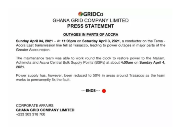 Saturday's Power Outage Hilariously Explained By GRIDCo