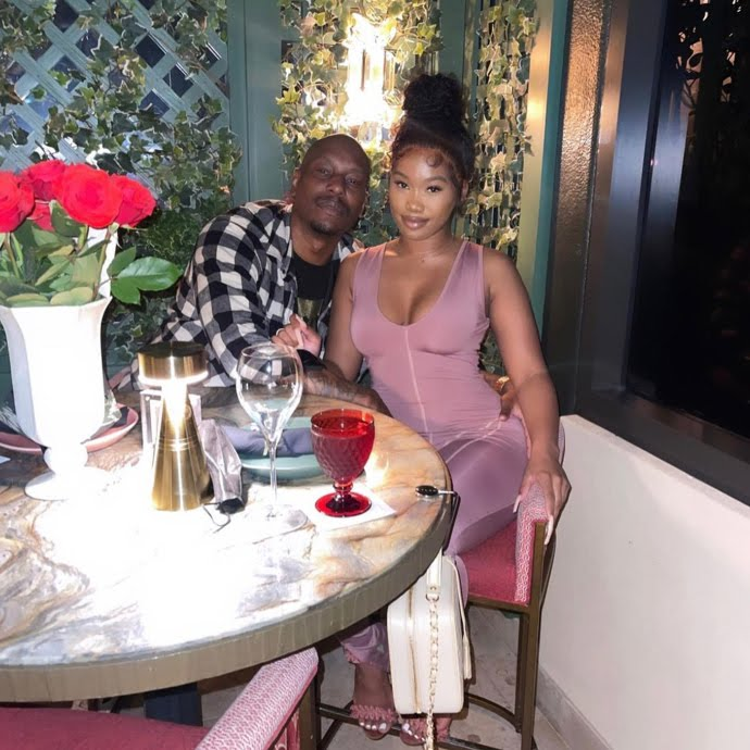 Actor Tyrese Gibson Shaves Her Wife's Pubic On Camera