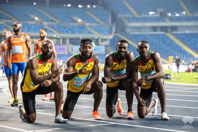 Ghana Disqualified From 4x100m Relays World Finals