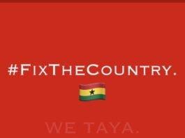 #FixTheCountry: Demo To Hit Accra, Similar To 'Kumi Pr3ko'