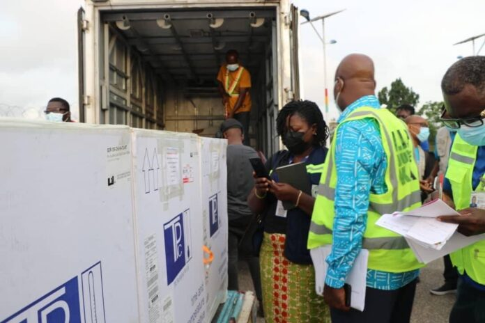 Ghana Receives Second Dose Of AstraZeneca Vaccines.