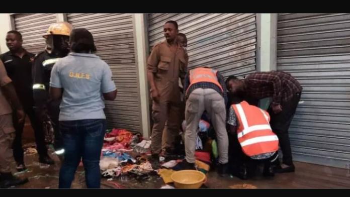 Part of Kejetia New Market Razed Down In Fire