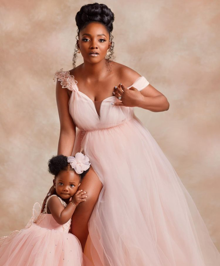 Simi And Adekunle Gold Gushes Over Their Daughter As She Turns 1