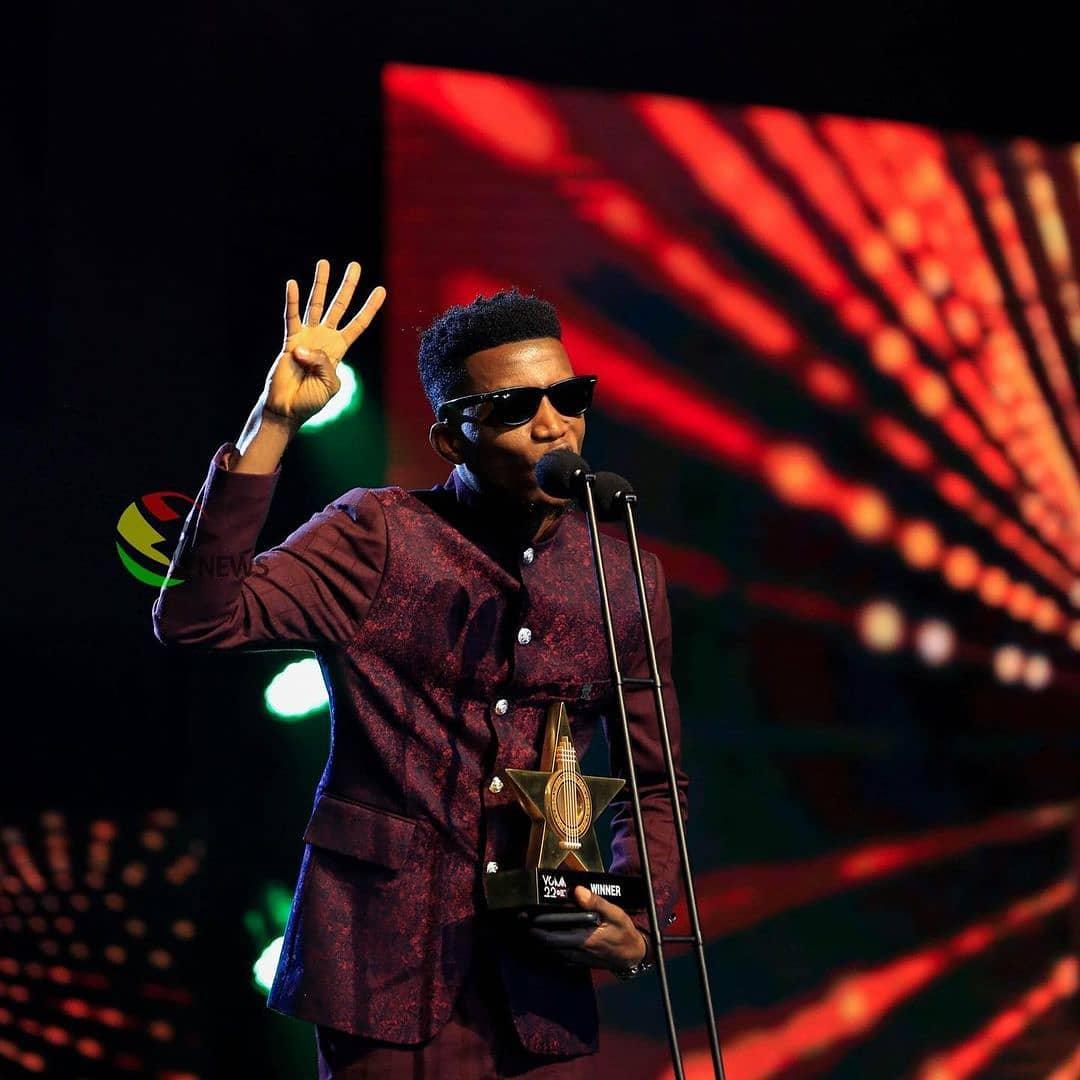 Kofi Kinaata Breaks His Record At VGMA, Full List Of Winners