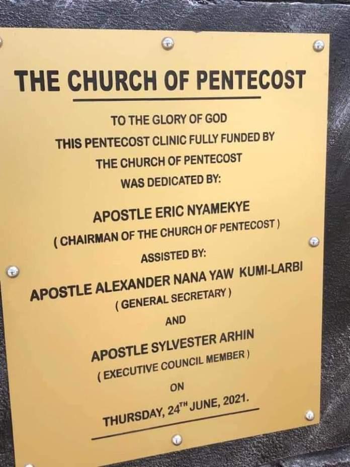 Church Of Pentecost Builds An Ultra Modern Hospital At Bawku