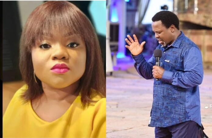 To this end, Sandra said TB Joshua damaged the faculties of his followers with his doctrines which is one of the common denominators that tie Christianity.