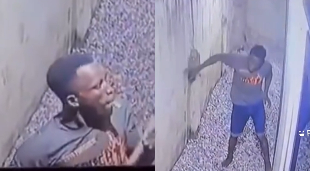 Unsmart Thief Put His Face On CCTV During Operation. This Is The Ransom On His Head