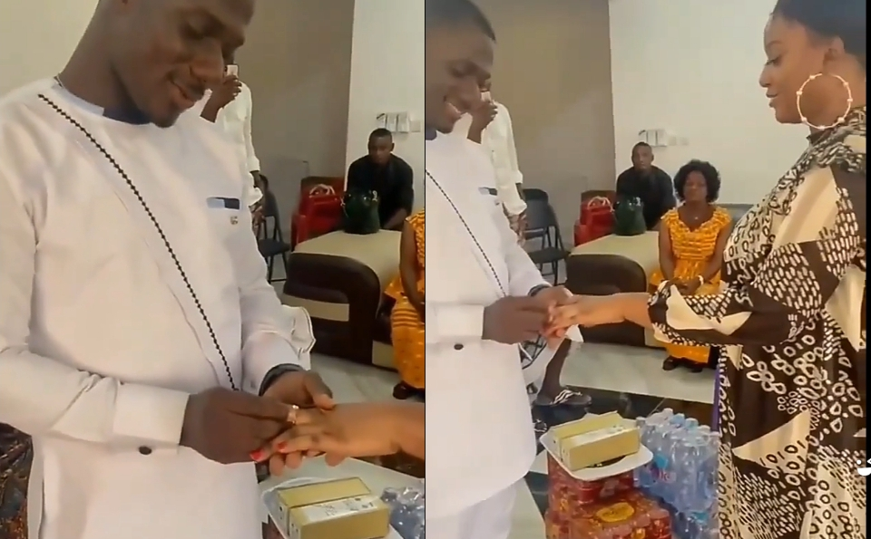 Videos And Photos Of Zion Felix Getting Married To A Strange Lady Surfaces