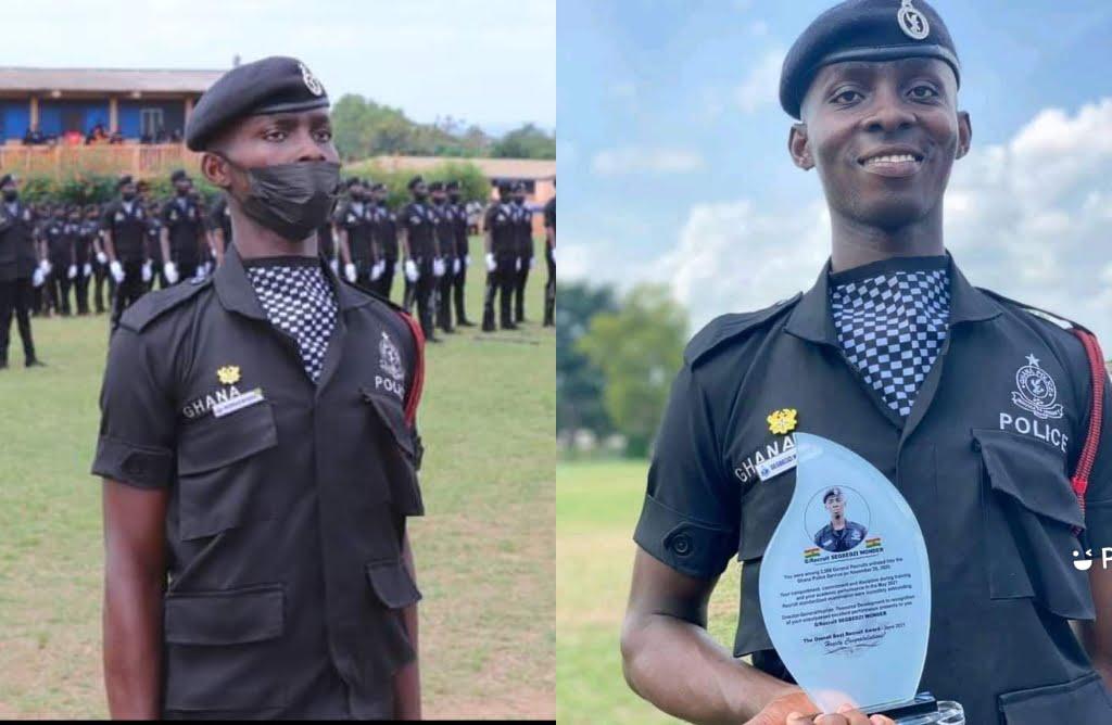 Wonder Segbedzi Native Anlo Afiadenyigba Adjudged Best Police Recruit 2021