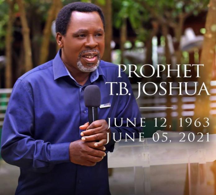 Nigerian Pastor TB Joshua Is Dead