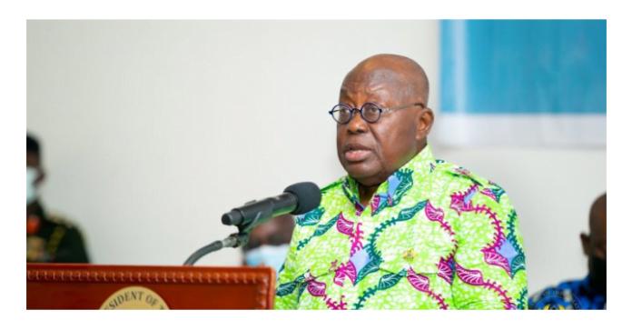 Akufo-Addo Praises Volta Chiefs For Denouncing Western Togoland Campaigners