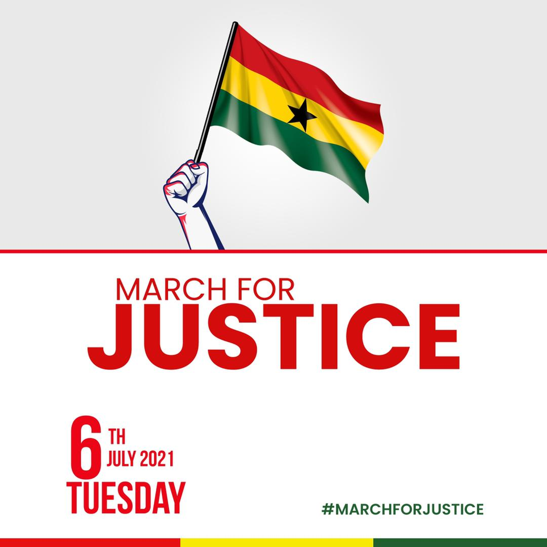 NDC Youth Wing Marches For Justice