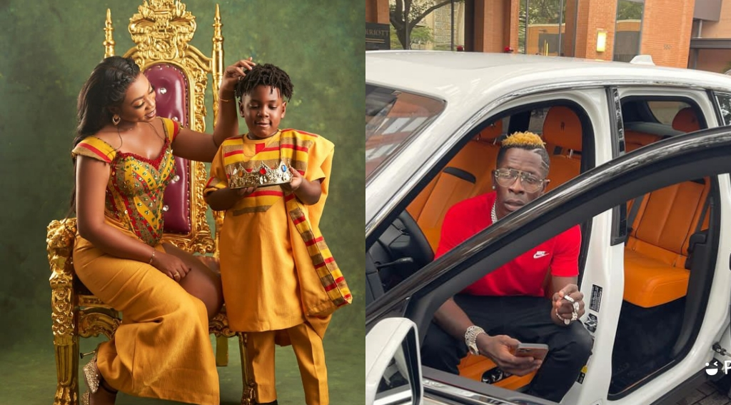 Michy Alleges Shatta wale Does Not Pay School Fees For Their Son