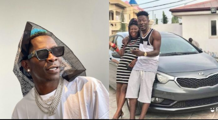 He Has Abandoned Me Because... - Shatta wale's Mother Cries Out On Radio.