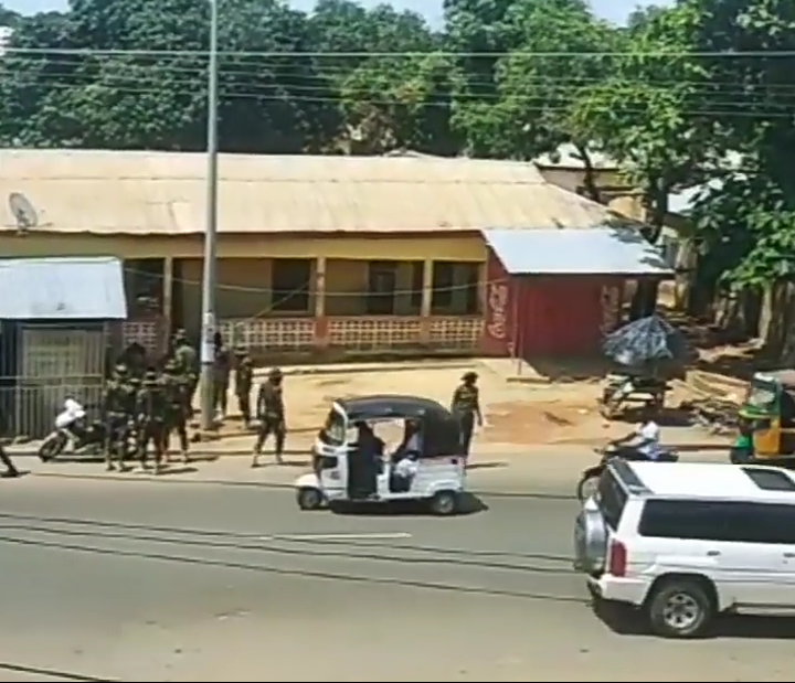 Soldiers Invade Wa Streets, Attacking Civilians