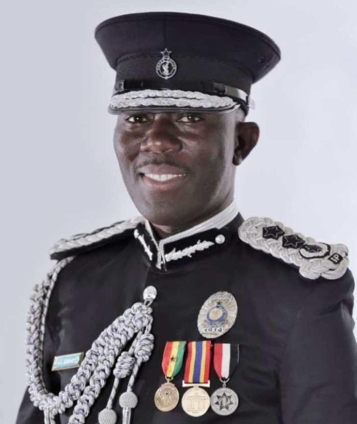 The Detailed Account Dampare's Rise To Police Top Rank