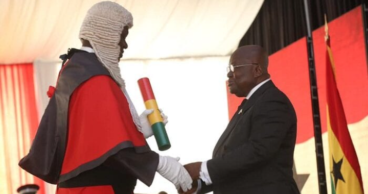 Akufo Addo Finally Responds To Calls To Remove Chief Justice Annin-Yeboah