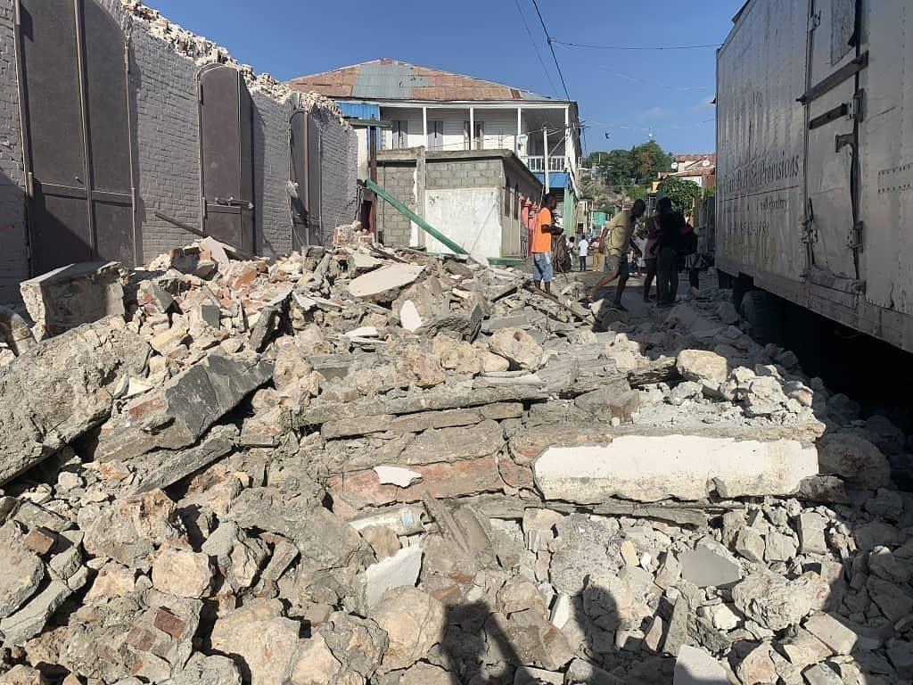 Powerful Earthquake Hits Of Haiti