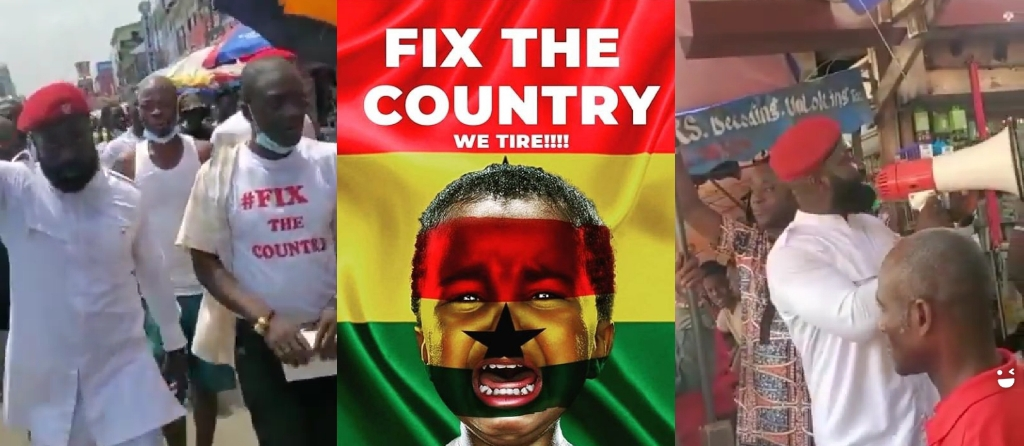 Captain Smart And Other #fixthecountry Conveners Hits Grassroots Ahead Of Date