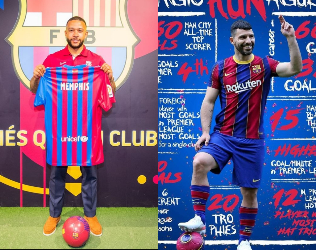 Barcelona Suffers Another Setback On Depay And Aguero After Messi
