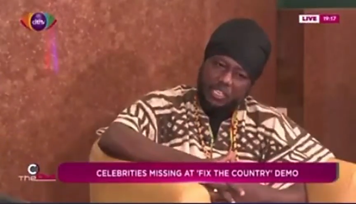 Blakk Rasta Expresses Joy Over Low Turn Up Of Celebs At #fixthecountry Demo. This Is Why