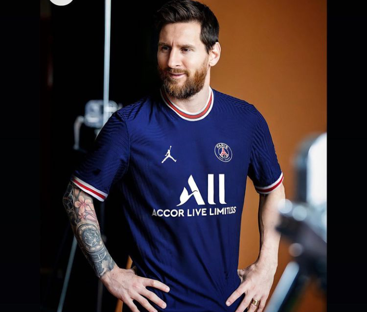 Lionel Messi Is Officially A PSG Football Player