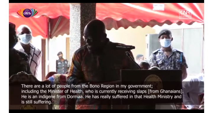 Agyeman-Manu Has Suffered - Akufo-Addo Says Amidst Laughter