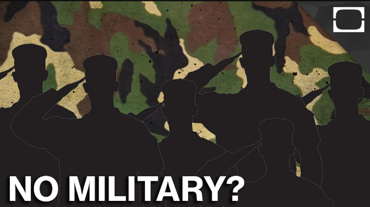 36 Countries With NO Military Service In The World.