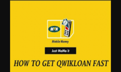 MTN Quick Loan, How To Apply And Receive Ghc1000