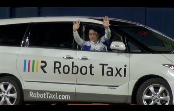 Robot taxis are taking over your routes